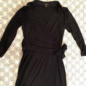 Ann Taylor Navy Blue dress size 0